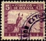 Sellos de America - Bolivia -  Llamas.