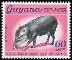 Sellos de America - Guyana -  fauna