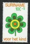 Stamps : America : Suriname :  583 - Flor