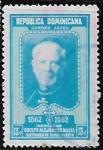 Stamps : America : Dominican_Republic :  Centenario del nacimiento de Monseñor Alfredo Alejandro Nouel