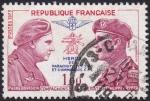Sellos de Europa - Francia -  Heros des Parachutistes
