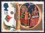 Stamps : Europe : United_Kingdom :  Navidad 1991