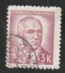 Sellos de Europa - Checoslovaquia -  411 - Presidente Eduardo Benes