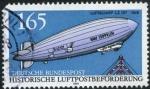 Sellos de Europa - Alemania -  Zeppelin
