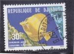Stamps Djibouti -  pez tropical