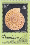 Stamps Dominica -  common sundial