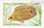 Stamps : Africa : Guinea_Bissau :  pez tropical