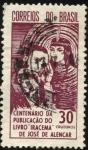 Sellos de America - Brasil -  100 años de la publicación del libro IRACEMA  de JOSÉ DE ALENCAR.
