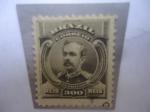 Sellos de America - Cuba -  Floriano Peixoto (1839-1895) 1er Vicepresidente (1891)-- Serie: Patritas y Alegorias de la Librtad.