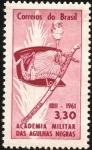 Stamps America - Brazil -  150 años de la academia militar de las Agujas Negras.
