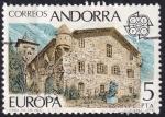 Sellos de Europa - Andorra -  C.E.P.T. 1978