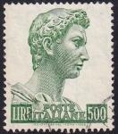 Sellos de Europa - Italia -  San Jorge de Donatello