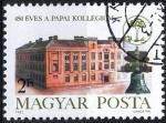 Sellos del Mundo : Europa : Hungría :  2770 - 450 Anivº del Colegio calvinista de Papa