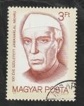 Sellos del Mundo : Europa : Hungría :  3240 - Centº del nacimiento de Jawaharlal Nehru
