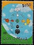 Stamps : America : Colombia :  Intercambio Diálogo entre civilizaciones