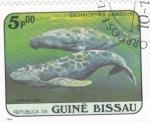 Stamps Guinea Bissau -  eschrichtius gibbosus