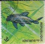 Stamps Burundi -  PEZ