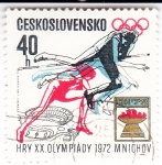 Stamps Czechoslovakia -  OLIMPIADA DE INVIERNO