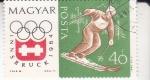 Stamps Hungary -  OLIMPIADA INNSBRUCK,64