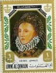 Stamps Saudi Arabia -  Elizabeth I