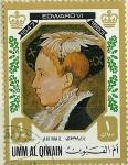 Stamps Saudi Arabia -  Edward VI