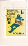 Stamps Poland -  CAMPEONATO HOCKEY SOBRE HIELO