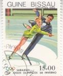 Stamps Guinea Bissau -  OLIMPIADA SARAJEVO'84