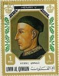 Stamps Saudi Arabia -  Henry V