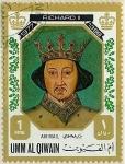 Stamps Saudi Arabia -  Richard II