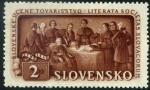 Stamps Slovakia -  Sociedad Literaria