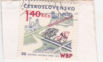 Sellos de Europa - Checoslovaquia -  CICLISMO