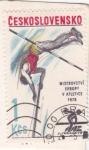 Stamps Czechoslovakia -  Campeonato Europeo de atletismo Praga-1978