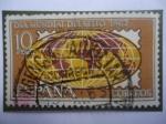 Stamps Spain -  Ed: 1511 - Día Mundial del Sello 1963 - Emblema