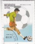 Sellos de America - Nicaragua -  CAMPEONATO MUNDIAL ESPAÑA'82