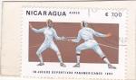 de America - Nicaragua -  ESGRIMA- JUEGOS PANAMERICANOS