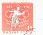 de Europa - Hungría -  ESGRIMA