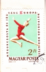 Stamps Hungary -  GIMNASTICA ARTÍSTICA-