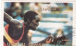 Stamps United Arab Emirates -  ATLETISMO