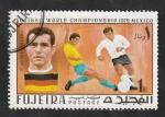 de Asia - Emiratos Árabes Unidos -  104 - Mundial de fútbol en Mexico, Beckenbauer
