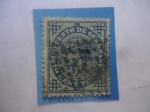 de Europa - España -  Ed:184 - Impuesto de Guerra-Retrato del Rey-Serie:Rey Alfonso XII