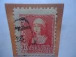Stamps Spain -  Ed: 857 - Isabel La Católica (1551-1504) - Serie: Queen Isabel 1 (1938)