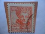 de Europa - España -  Ed:955 - San Juan de la Cruz (1542-1591) - 4° Centenario de su Nacimiento (1542-1942)