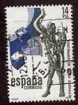 Stamps Spain -   Pablo GargalloCentenario de