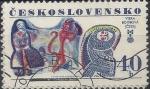 Sellos del Mundo : Europa : Checoslovaquia :  1977 - Año internacional de la infancia, Viera Bombová