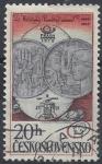 Sellos del Mundo : Europa : Checoslovaquia :  1978 - Exposición de sellos Praga, Monedas de 10 y 25 K