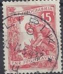 Stamps  -  -  Yugoslavia usados - Intercambio