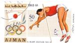 Stamps United Arab Emirates -  ATLETISMO-TOKIO'64