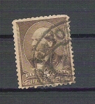 Stamps America - United States -  Nº 62 . J. Garfield