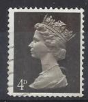 Sellos del Mundo : Europa : Reino_Unido : 1968 - Queen Elizabeth II - Predecimal Machin