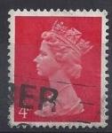 Sellos del Mundo : Europa : Reino_Unido : 1971- Queen Elizabeth II - Decimal Machin